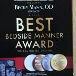 2015 Our Health Best Bedside Dr becky