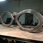 Cateye Glasses Sculpture