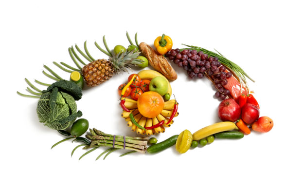 eye-symbol-using-healthy-food