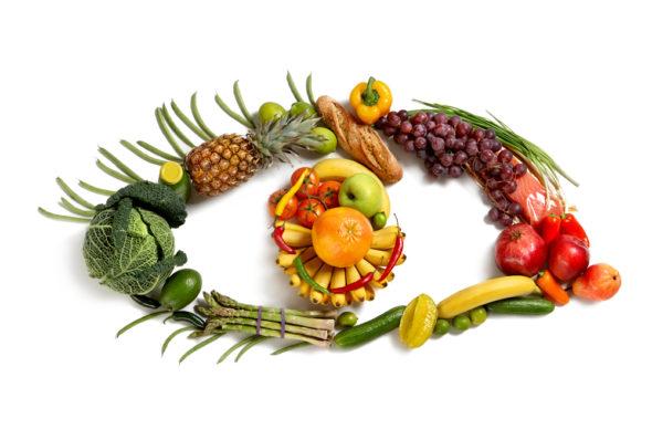 eye-symbol-using-healthy-food