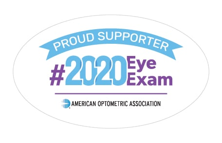 AOA #2020 Eye Exam Supporter Badge