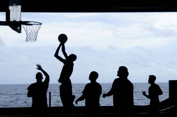 Most eye injuries occur during basketball games.